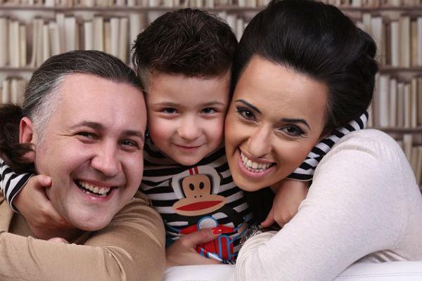 Илья и Мария воспитывают пятилетнего сына Матвея
