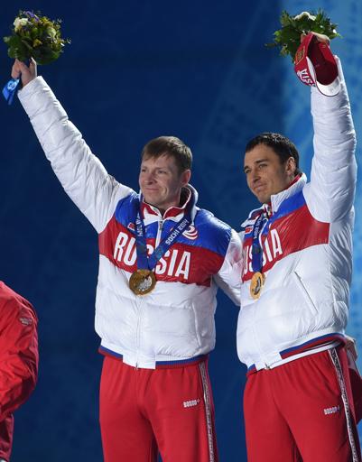 Дуэт Александра Зубкова и Алексея Воеводы взял первое золото бобслея за всю историю России