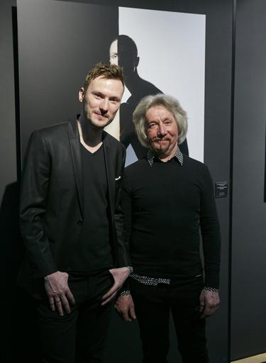 Фотохудожник Георгий Майер и живописец Сергей Брюханов