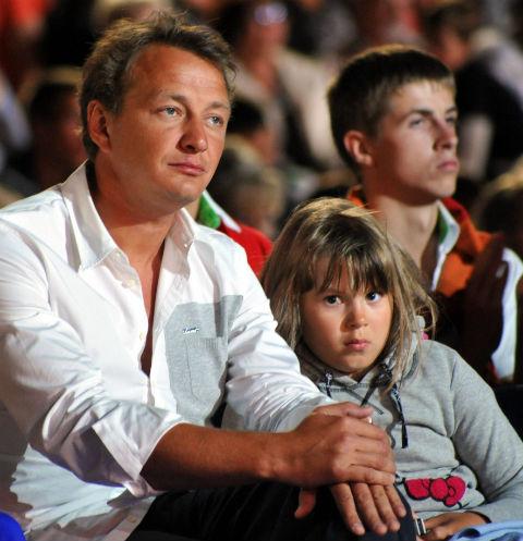 Марат Башаров с дочерью Амели