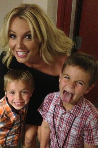 У Бритни Спирc растет два сына