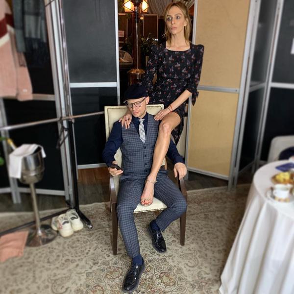 Дмитрий Хрусталев впервый раз  женился в40 лет