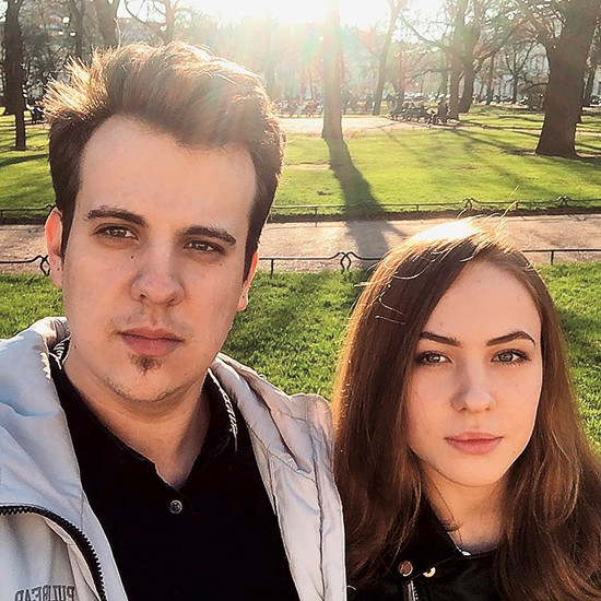 Катя считает, что ее избранник Федор похож на папу – внешне и чувством юмора