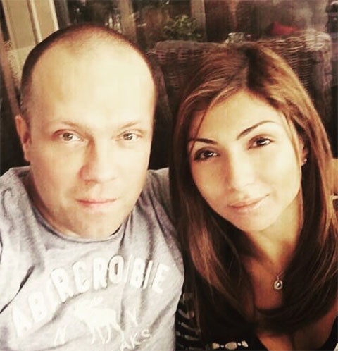 DJ Грув и его жена Дениза Ватпатрикова