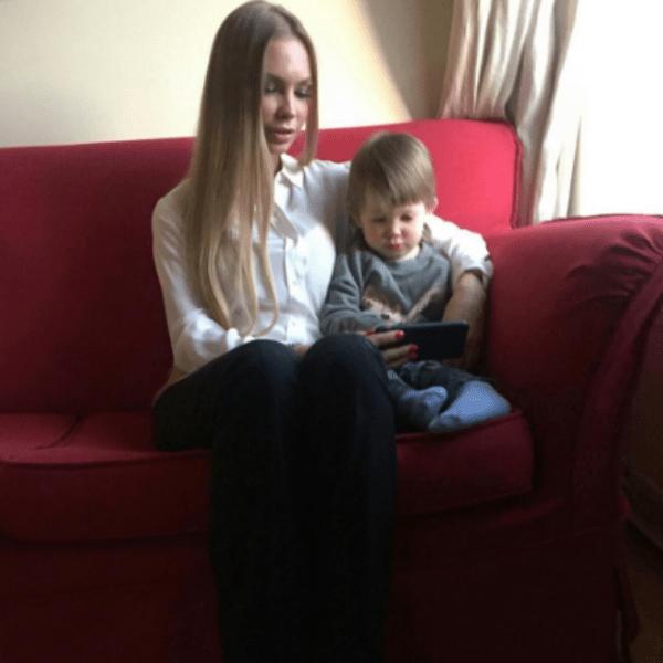 Маленький сын артиста живет с мамой в Санкт-Петербурге