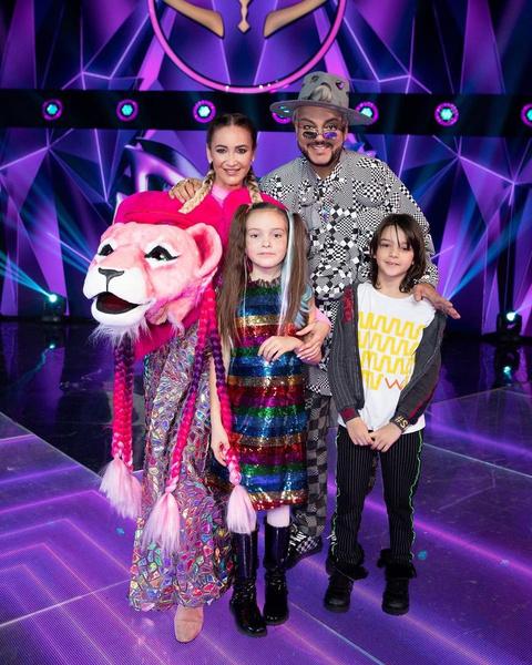 Выступление Розовой Пантеры понравилось и детям поп-короля