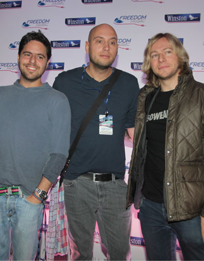 DJs Gui Boratto (Бразилия), Solee (Германия), James Zabiela (Великобритания)