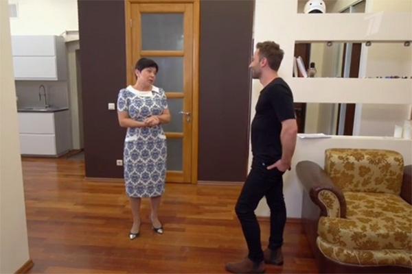 Дмитрий Шепелев рассказал Наташе Барбье, какой хочет видеть квартиру после ремонта