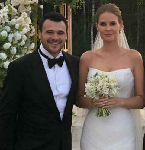 Эмин Агаларов и Алена Гаврилова поженились в середине июля