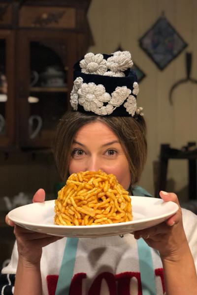 Жанна была сама удивлена своим кулинарным способностям