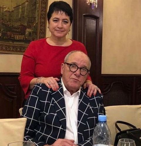 Эммануил Виторган и его жена Ирина