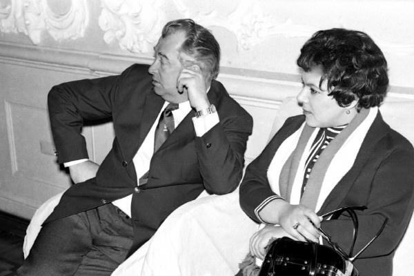 Эдуард Барклай ухаживал за супругой и заботился об ее здоровье