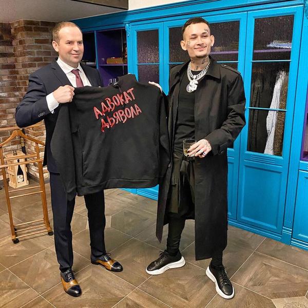 Сергей Жорин и Моргенштерн