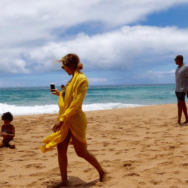 Семья чудесно отдохнула на Гавайях