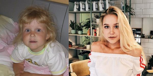 «Куколка»: детские снимки погибшей Насти Тропицель