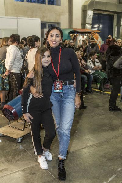 Алсу и ее дочь Микелла