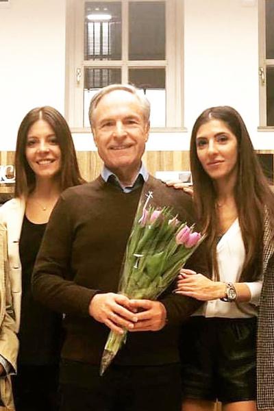 Глаголева подарила Родиону Нахапетову двух дочерей