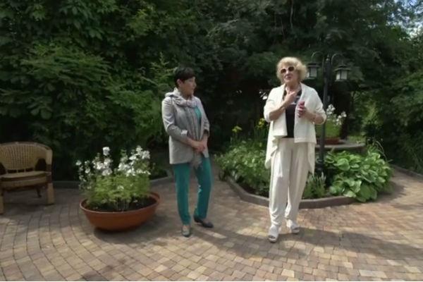 Для Светланы Дружининой был создан дизайн садового участка в итальянском стиле