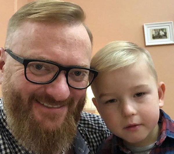 Милонов с сыном Петром