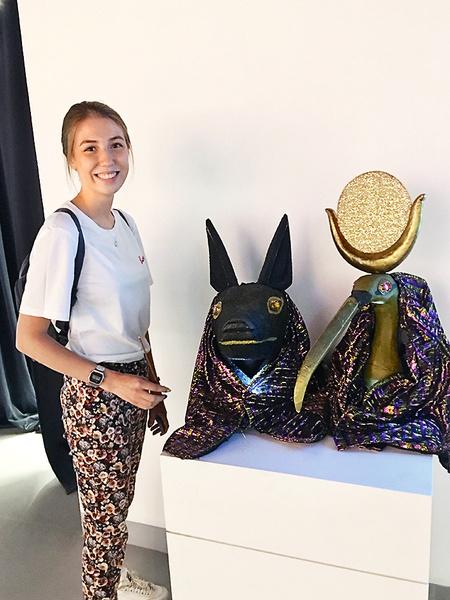 Студентка МГУ Дарья Швейкина собирается привести на выставку и свою маму