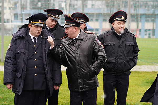 Команда полицейских из сериала
