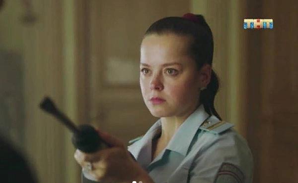 Героиня Медведевой в сериале «Конная полиция»