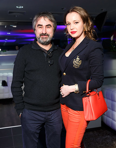 Александр Толмацкий с женой