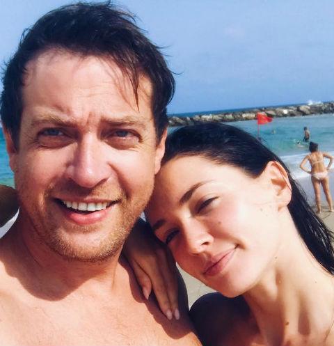 Кирилл Сафонов с дочерью Анастасией