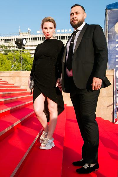 Валерия Гай Германика с супругом Денисом