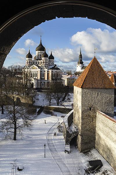 Средняя температура в Эстонии зимой –7 °С