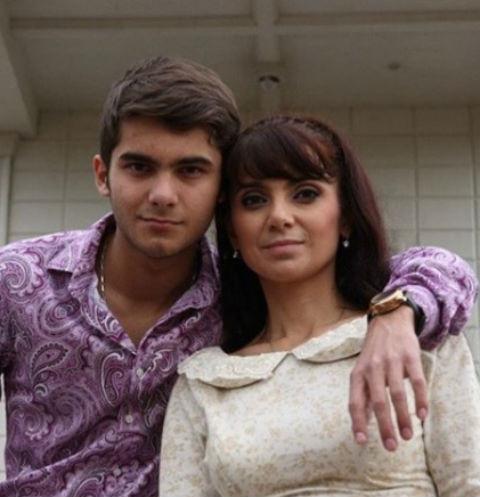 Татьяна Маругова с сыном