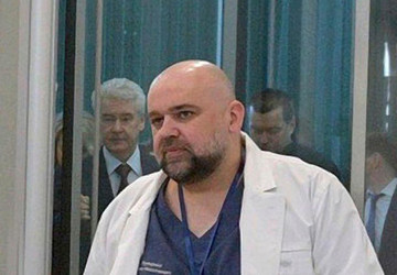 У главврача больницы в Коммунарке Дениса Проценко диагностировали коронавирус