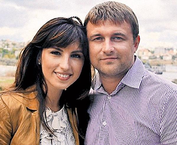 Вторая экс-супруга  Трахтенберга Вера  Мороз очень счастлива  во втором браке