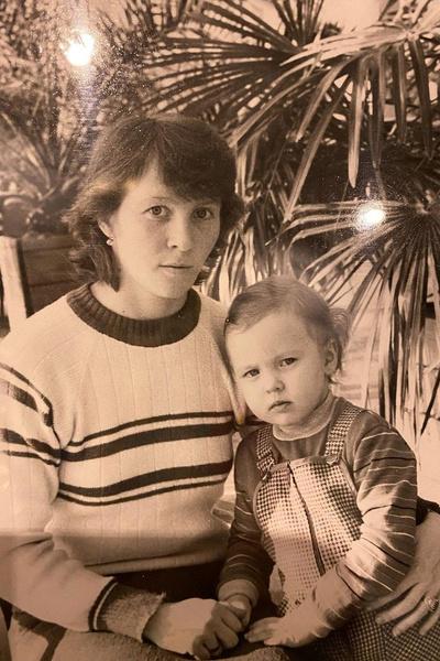 Татьяна Тотьмянина с мамой