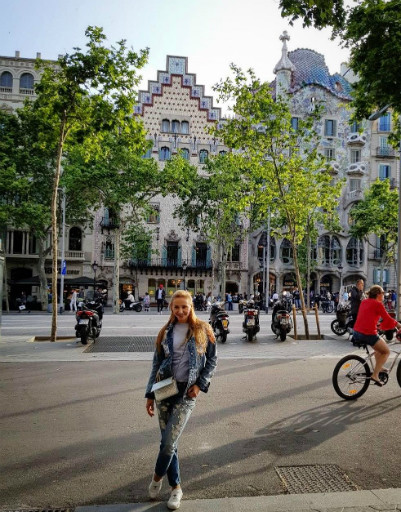 Татьяна Навка давно мечтала побывать в Барселоне