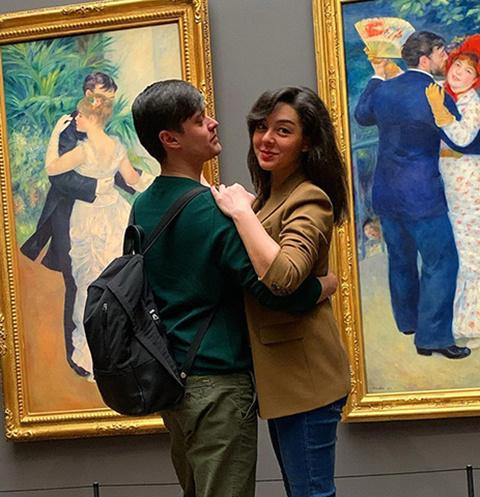 Марина Кравец с супругом