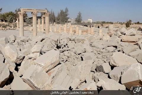 То, что осталось от Храма Баалшамина после взрыва