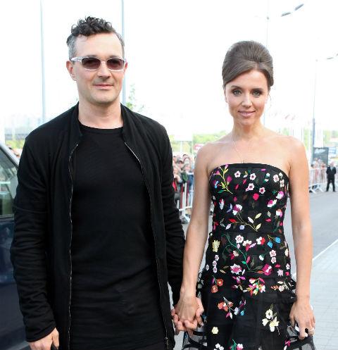 Егор Бероев с женой Ксенией Алферовой