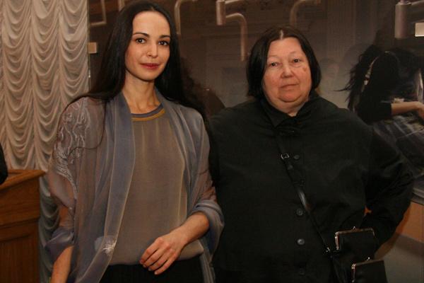 Диана Вишнева и Татьяна Парфенова