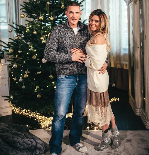 Новый год ведущая «Дома-2» вместе с мужем Курбаном и дочерьми Марусей и Теоной встретят в загородном доме