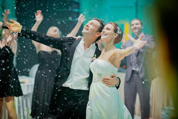В 2012-м пара сыграла пышную свадьбу
