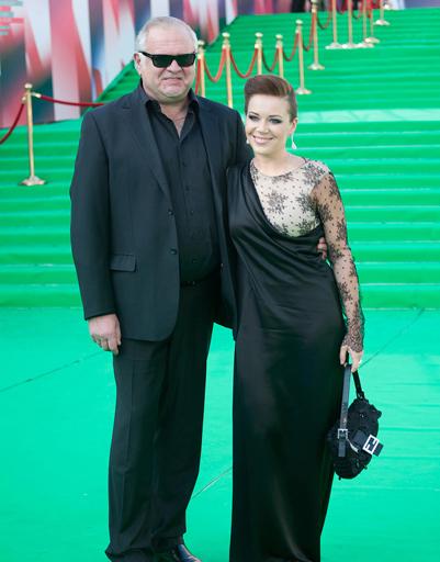 На ковровой дорожке ММКФ в 2011 году Екатерина и Сергей позировали вместе