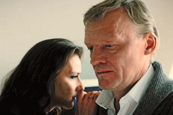 С героем Алексея Серебрякова у нее особые отношения