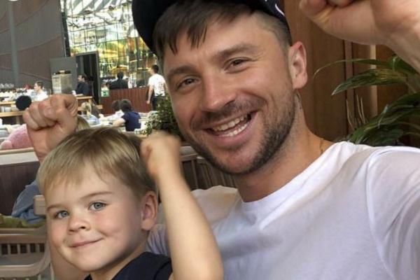 Сыну Сергея Лазарева сейчас четыре года