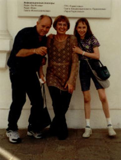 Впервые Светлана и Саша увидели Сэнди в Москве в июне 2002 года, а в октябре он вернулся, чтобы забрать их в Америку