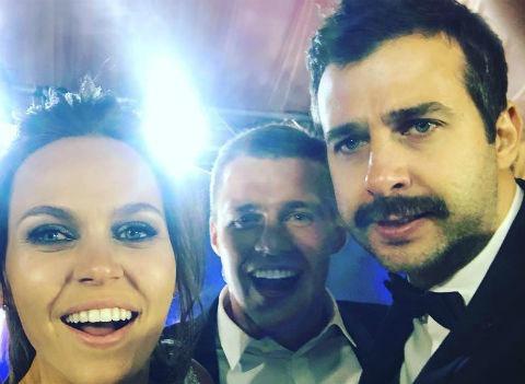 Меладзе и Ургант зажгли на шикарной свадьбе российского футболиста