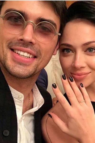 Свадьба с Кириллом Дыцевичем состоялась 10 ноября 2017 года, а в январе 2018-го влюбленные развелись