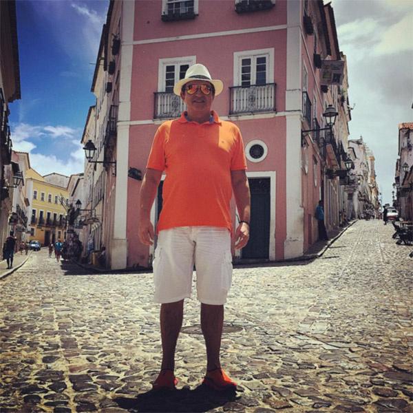 Дмитрий Дибров в городе Салвадор, где родился один из его любимых писателей Жоржи Амаду