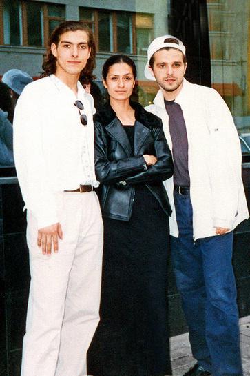 Александр Чижевский, Виктория Исакова и Сергей Новиков были близкими друзьями в студенчестве
