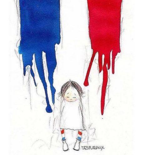 Мир скорбит по жертвам теракта во Франции